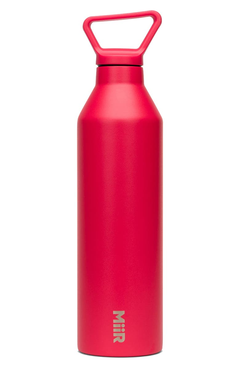 MIIR Insulated Stainless Steel Narrow Mouth Bottle, Main, color, CASCARA