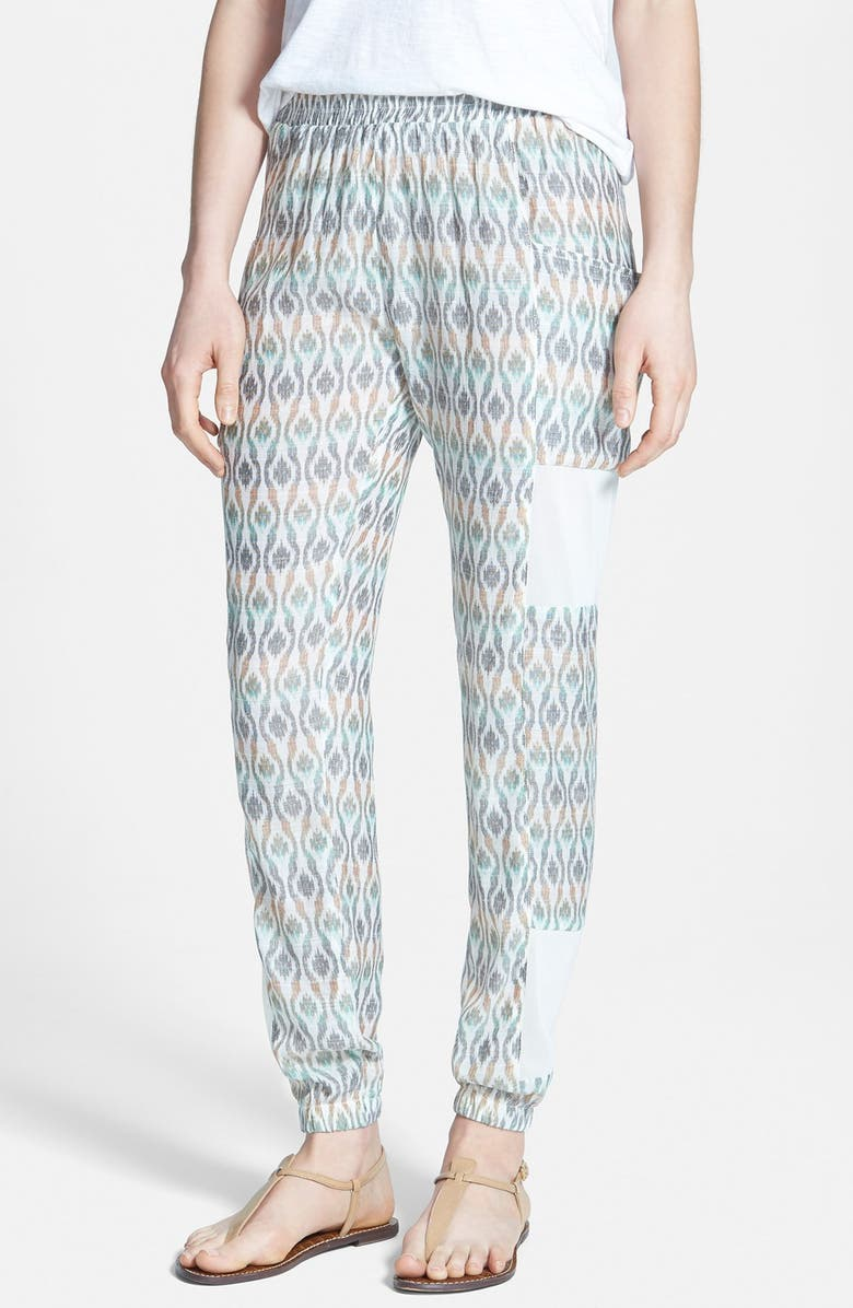 NIKKI RICH 'Mecca' Mesh Inset Track Pants, Main, color, 250