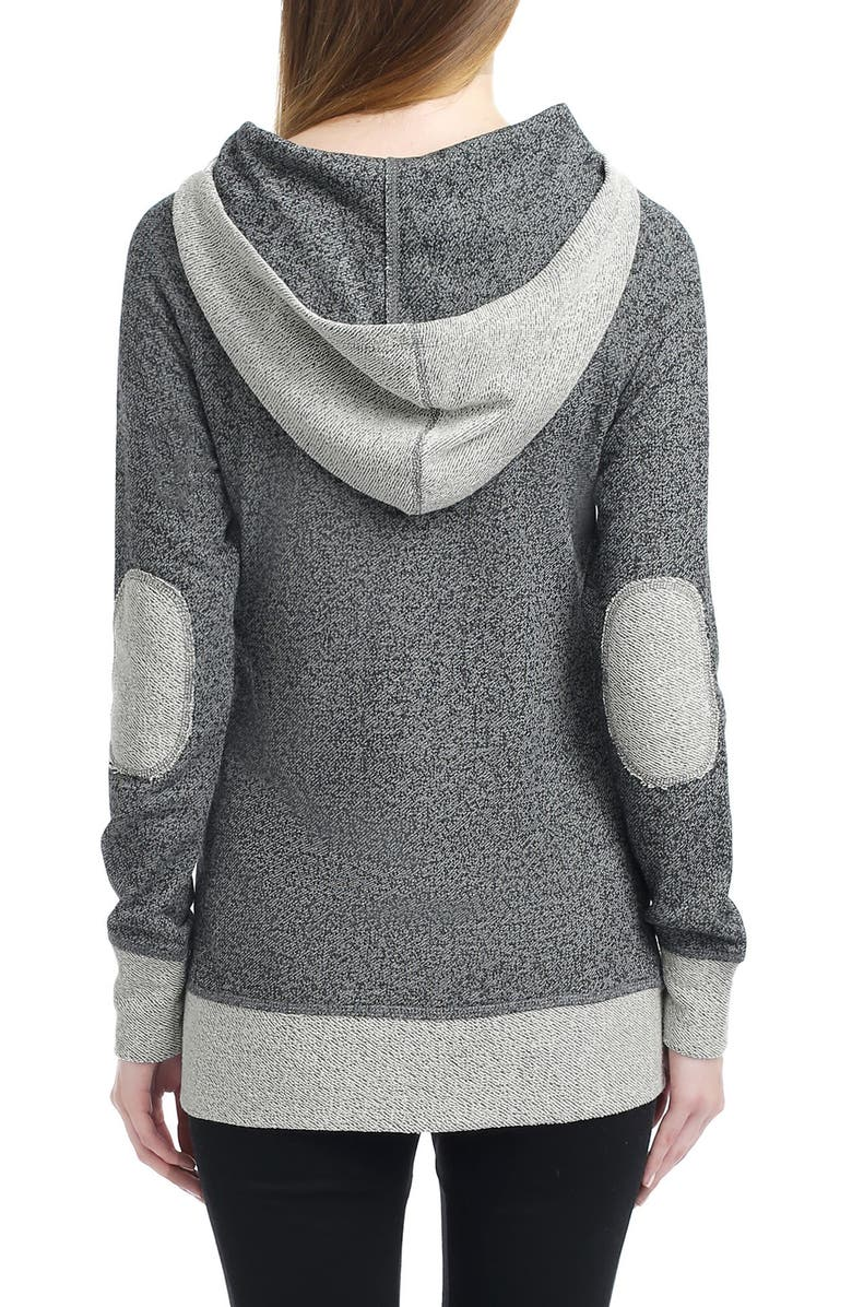 KIMI AND KAI Pippy Cowl Neck Maternity Hoodie, Main, color, 020
