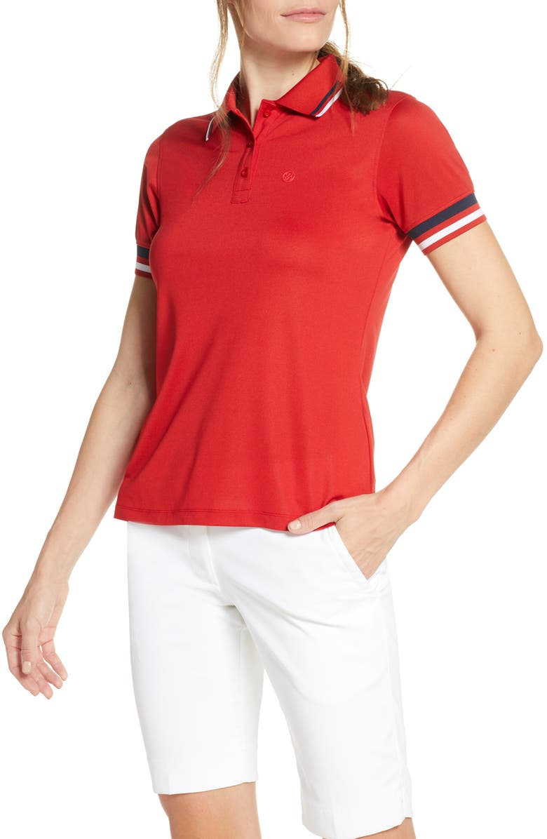 G/FORE Tipped Polo, Main, color, 600