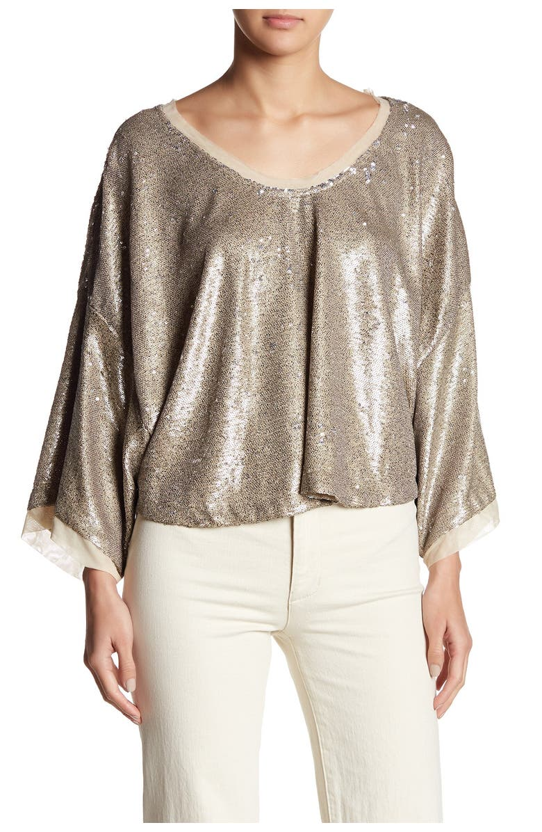 FREE PEOPLE Champagne Dreams Top, Main, color, 102