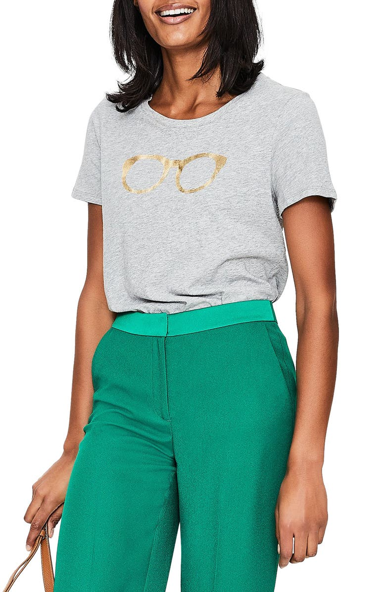BODEN Crewneck Graphic Tee, Main, color, 062