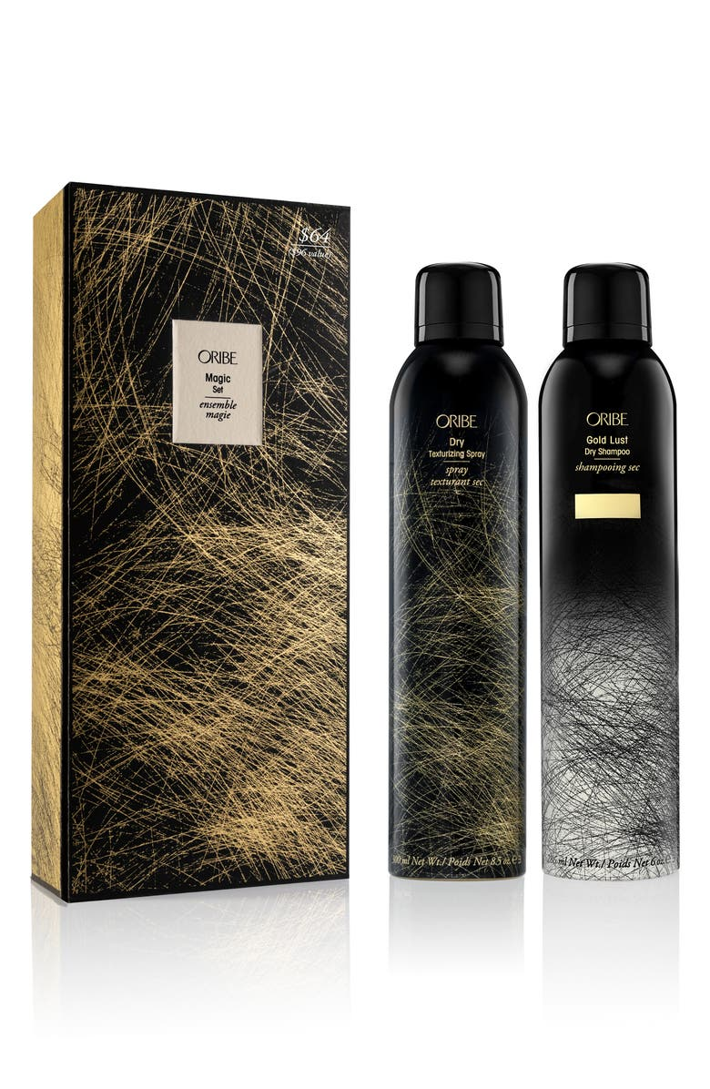 ORIBE Full Size Gold Lust Dry Shampoo & Dry Texturizing Spray Set, Main, color, NO COLOR