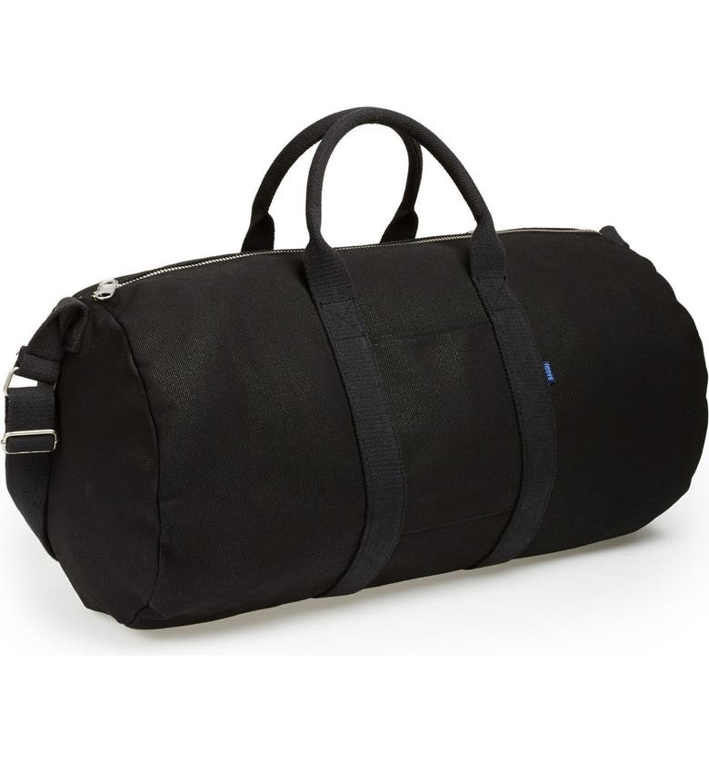 BAGGU <sup>®</sup> Canvas Duffel Bag, Main, color, 001