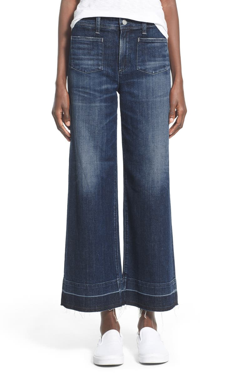 AGOLDE A Gold E 'June' Crop High Rise Flare Jeans, Main, color, MANSFIELD (MED WASH)