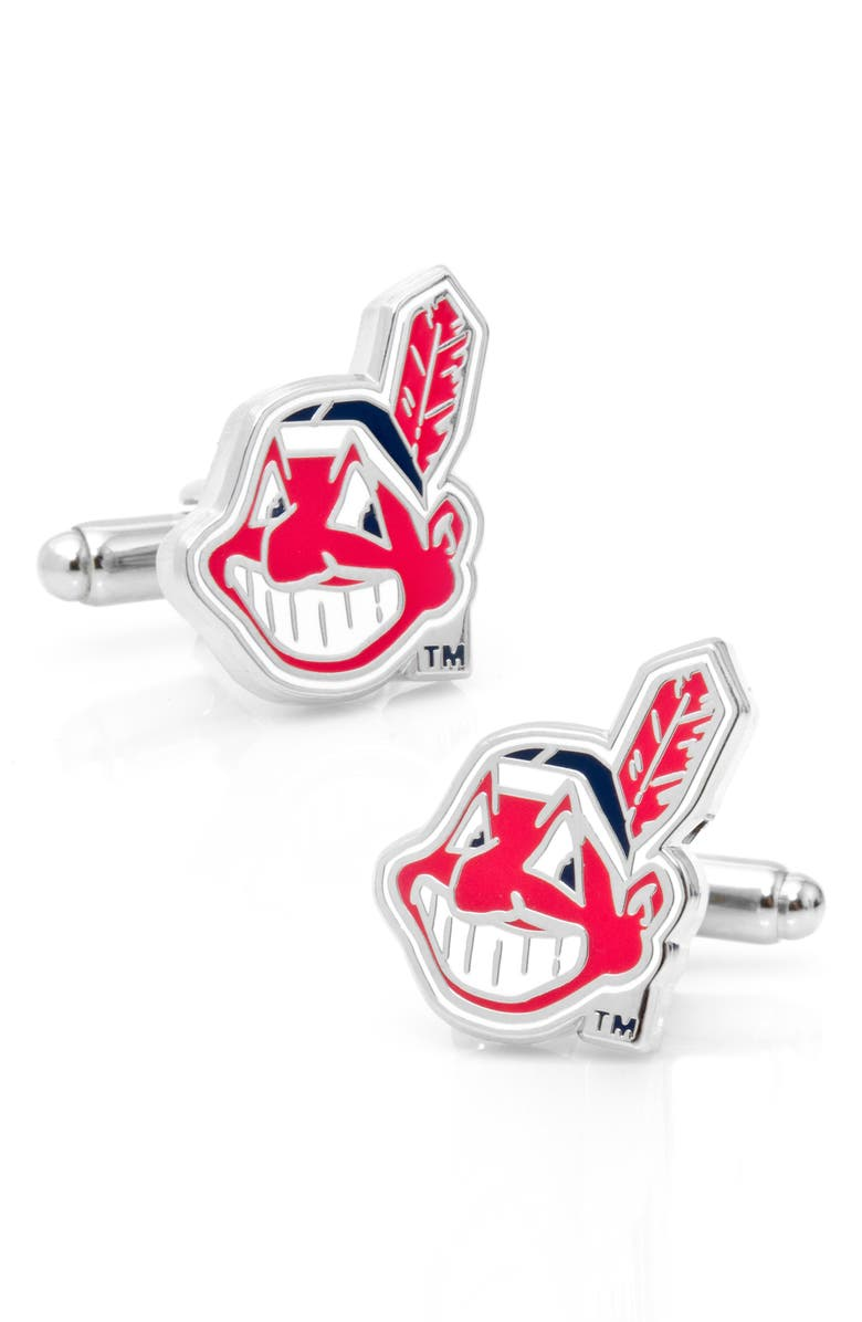 CUFFLINKS, INC. Cleveland Cuff Links, Main, color, RED