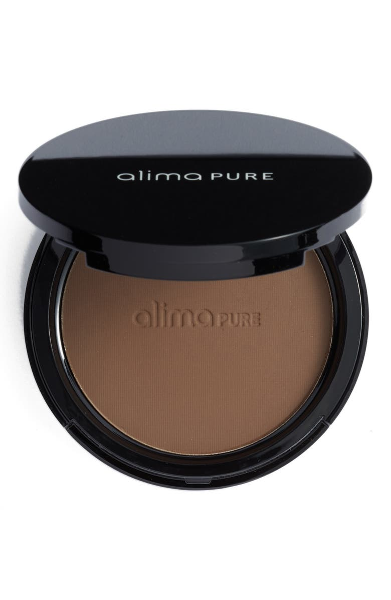 ALIMA PURE Pressed Foundation with Rosehip Antioxidant Complex, Main, color, CLOVE