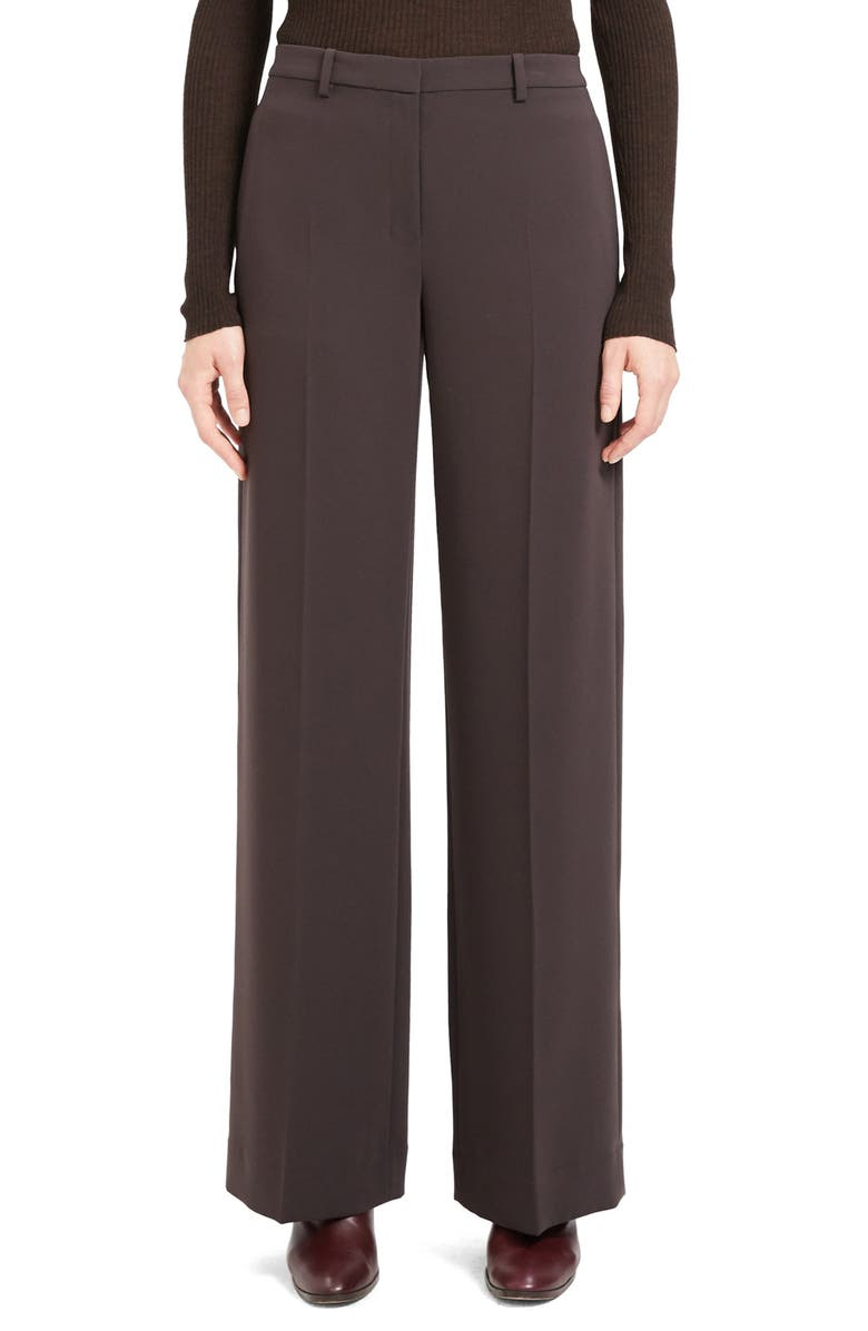THEORY Admiral Wide Leg Trousers, Main, color, 247