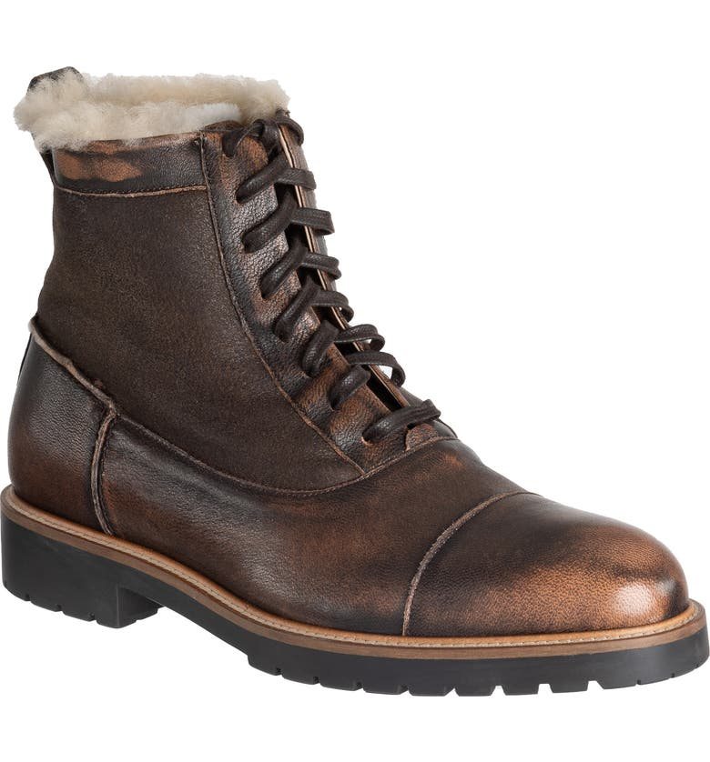 ROSS & SNOW Riccardo SuPreen Weatherproof Cap Toe Boot, Main, color, 200