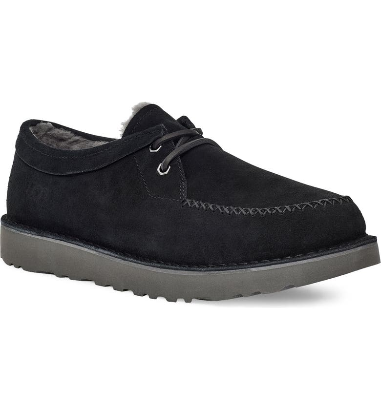 UGG<SUP>®</SUP> Campout Low Chukka Boot, Main, color, BLACK SUEDE
