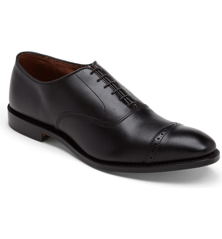 ALLEN EDMONDS Fifth Avenue Oxford, Main, color, BLACK CUSTOM CALF