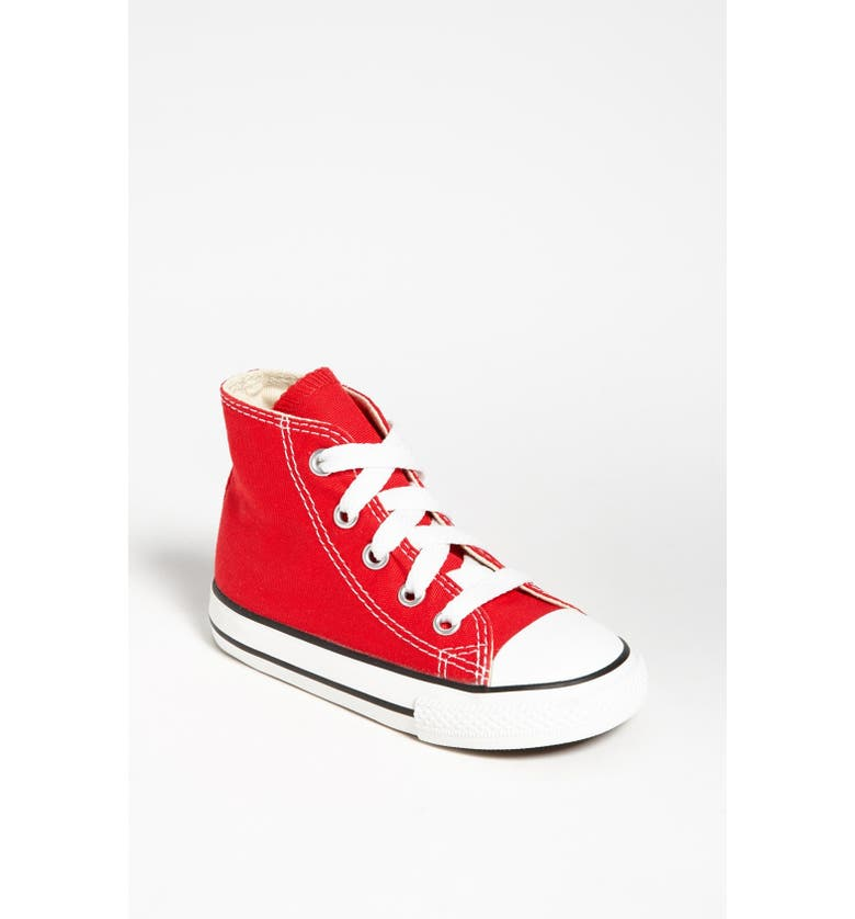 CONVERSE All Star<sup>®</sup> High Top Sneaker, Main, color, 000