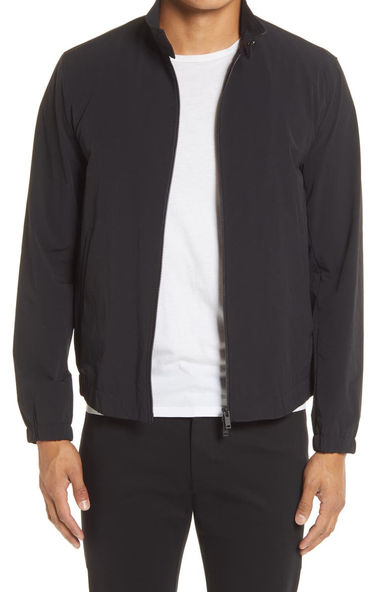 THEORY Newton Slim Fit Jacket, Main, color, BLACK