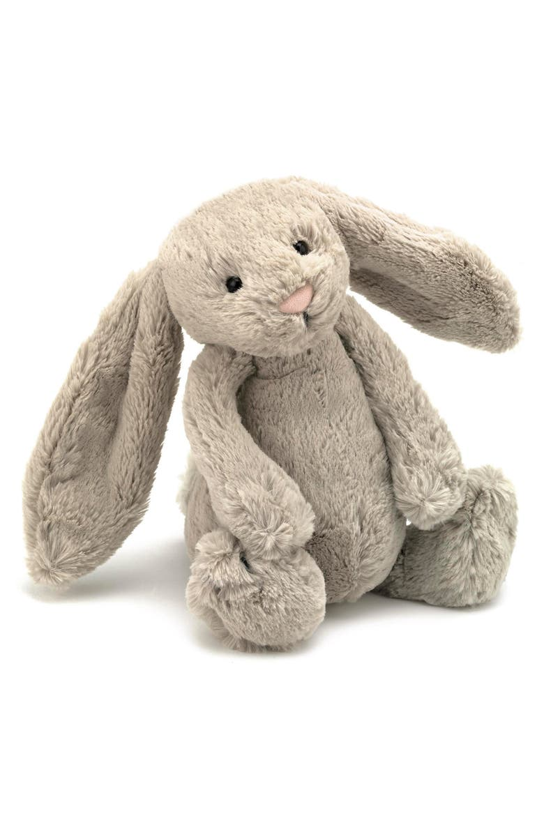 JELLYCAT Bashful Bunny Stuffed Animal, Main, color, 250