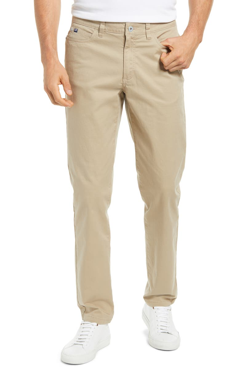 CUTTER & BUCK Voyager Straight Leg Pants, Main, color, ROPE