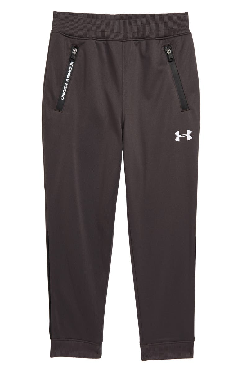 UNDER ARMOUR Pennant Pants, Main, color, CHARCOAL
