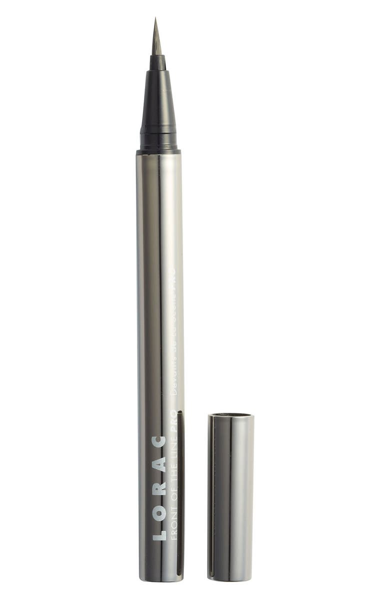 LORAC Front of the Line PRO Liquid Eye Liner, Main, color, 001