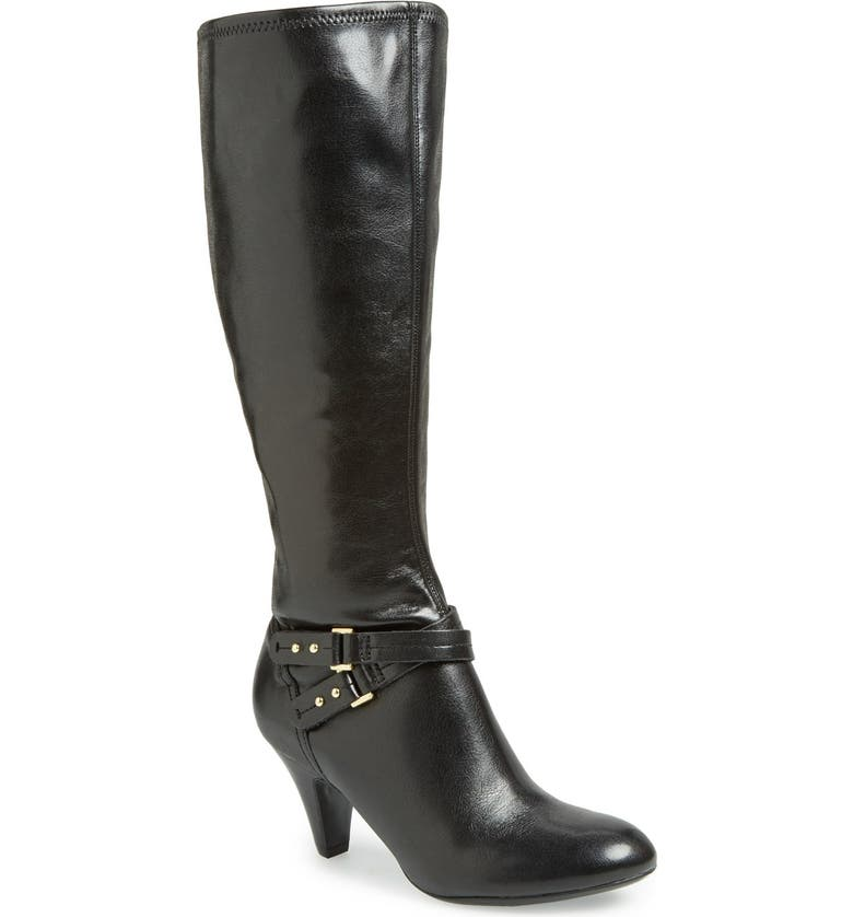 NATURALIZER 'Byron' Knee High Boot, Main, color, 001