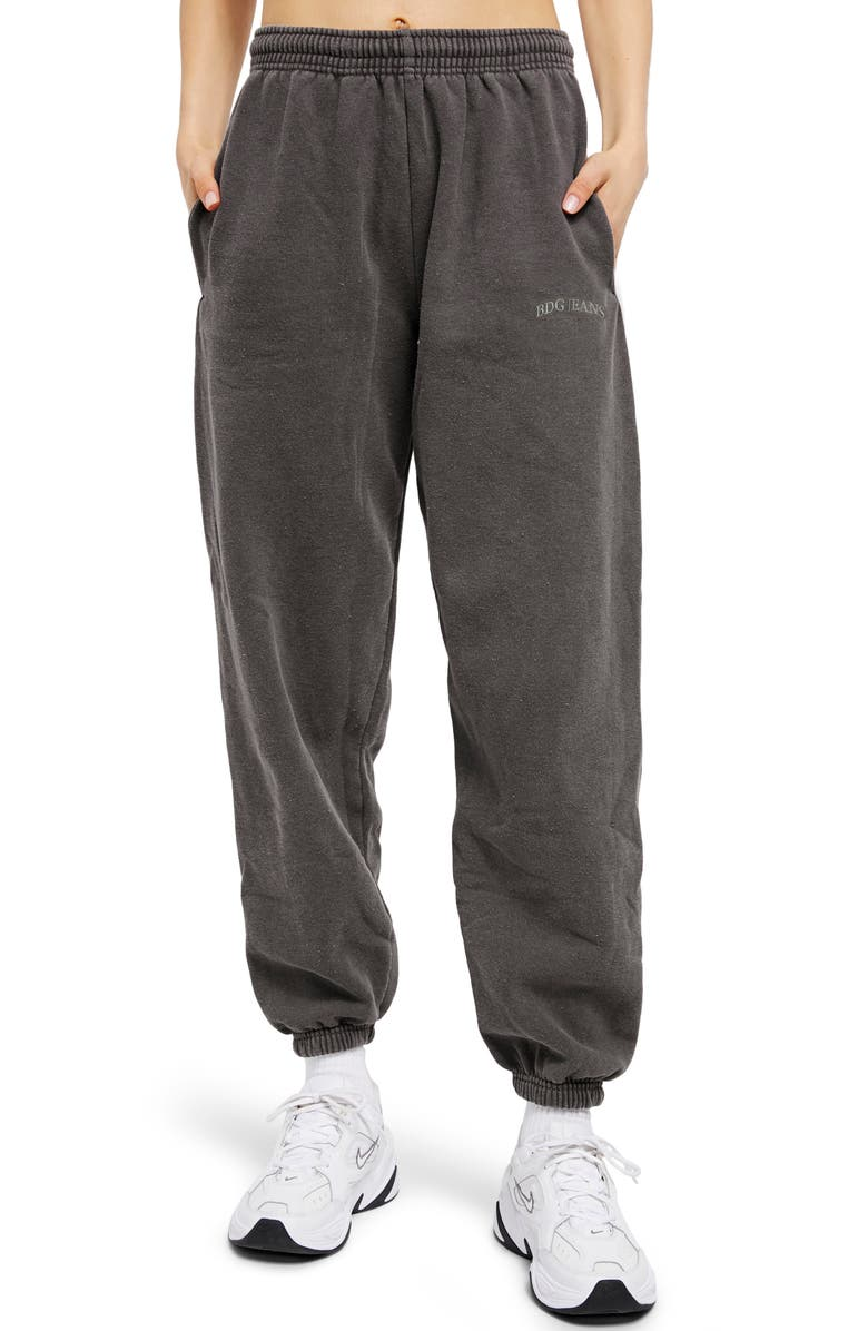 BDG URBAN OUTFITTERS Joggers, Main, color, CHARCOAL