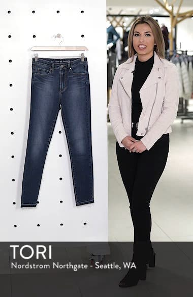 Heather High Waist Crop Skinny Jeans, sales video thumbnail