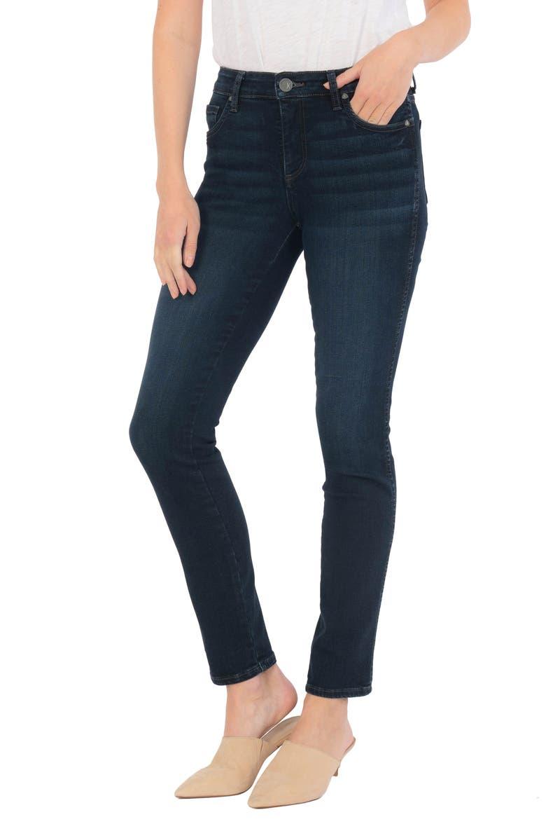 KUT FROM THE KLOTH Diana Ab Fab High Waist Relaxed Skinny Jeans, Main, color, GRADUATE
