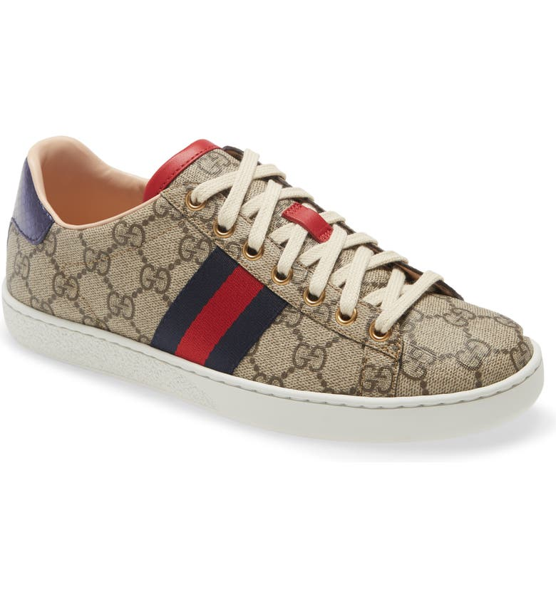 GUCCI New Ace Sneaker, Main, color, 268