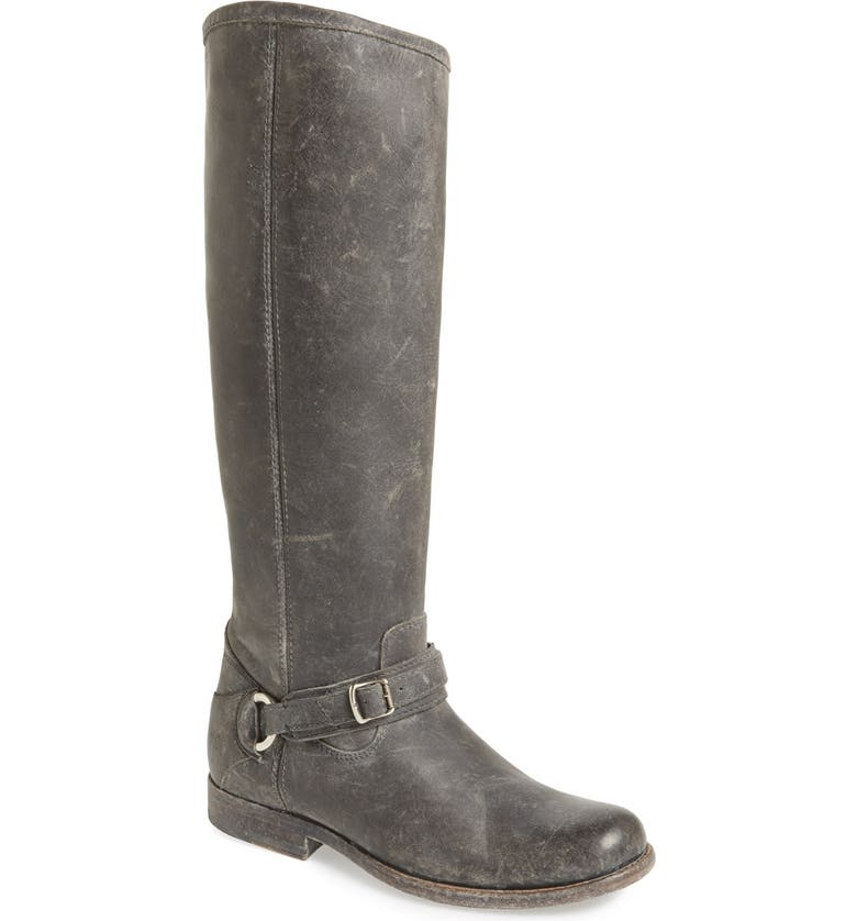 FRYE 'Phillip' Tall Boot, Main, color, 001