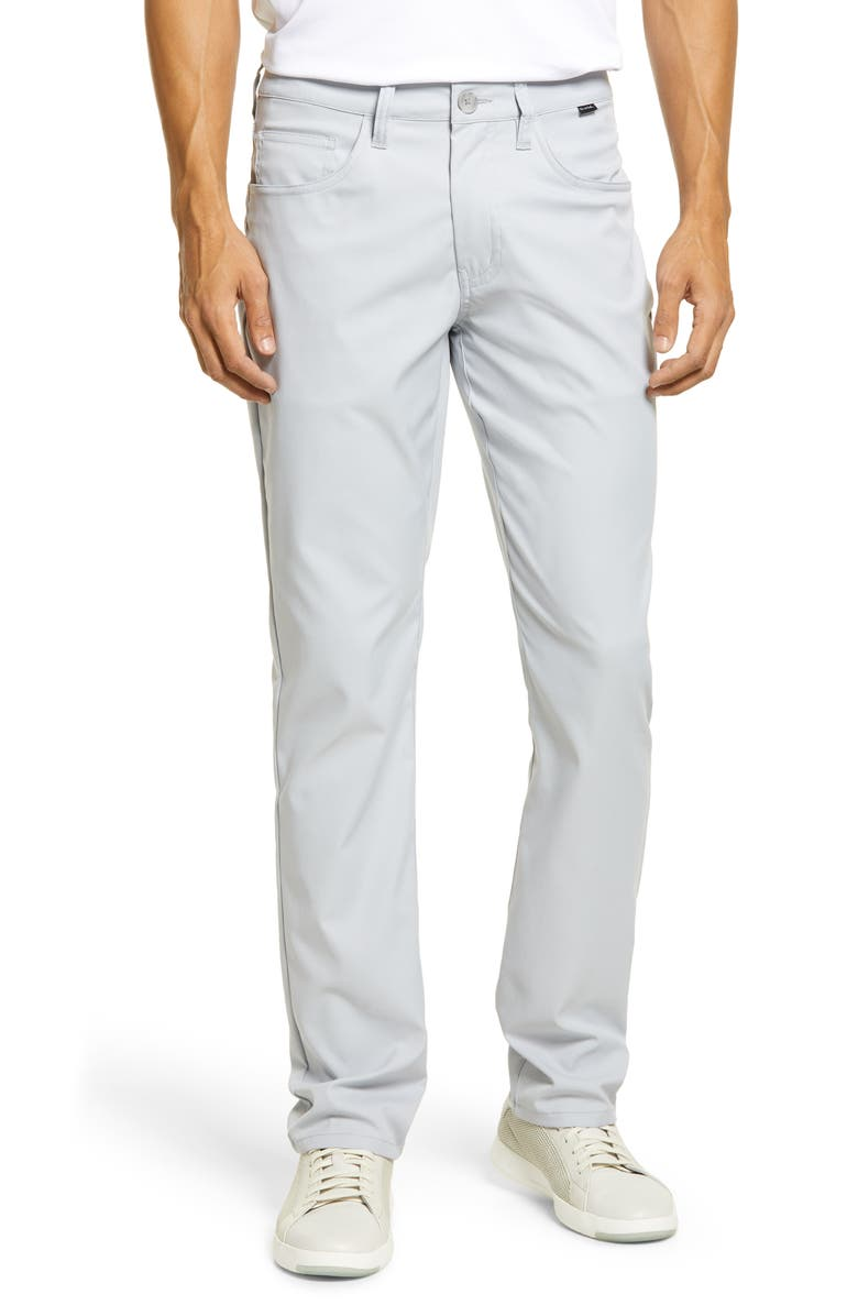 TRAVISMATHEW Level Up Slim Fit Pants, Main, color, MICROCHIP