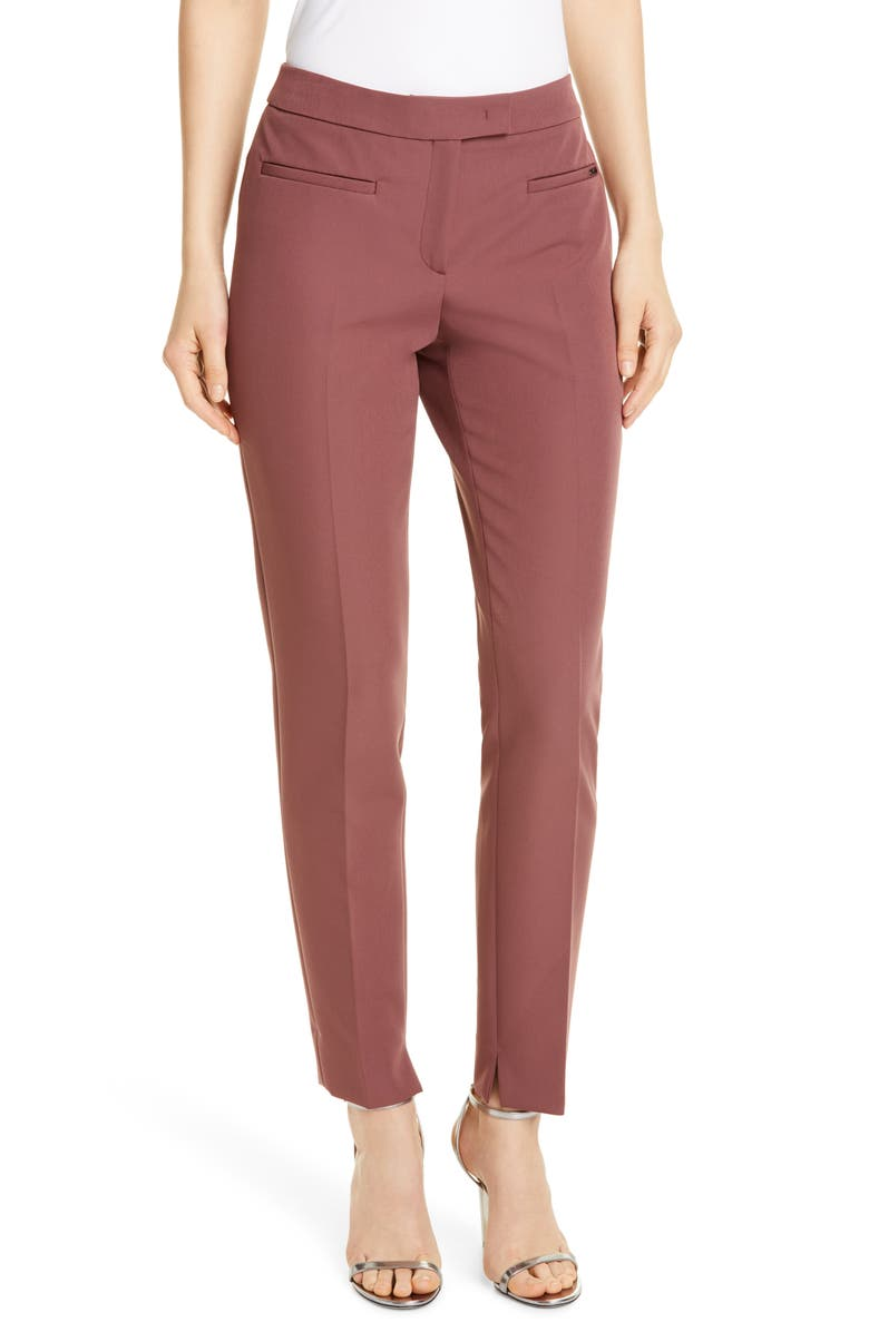 SEVENTY VENEZIA Seventy Front Pleat Trousers, Main, color, 500