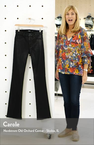 Hudson Barbara High Waist Bootcut Coated Jeans, sales video thumbnail