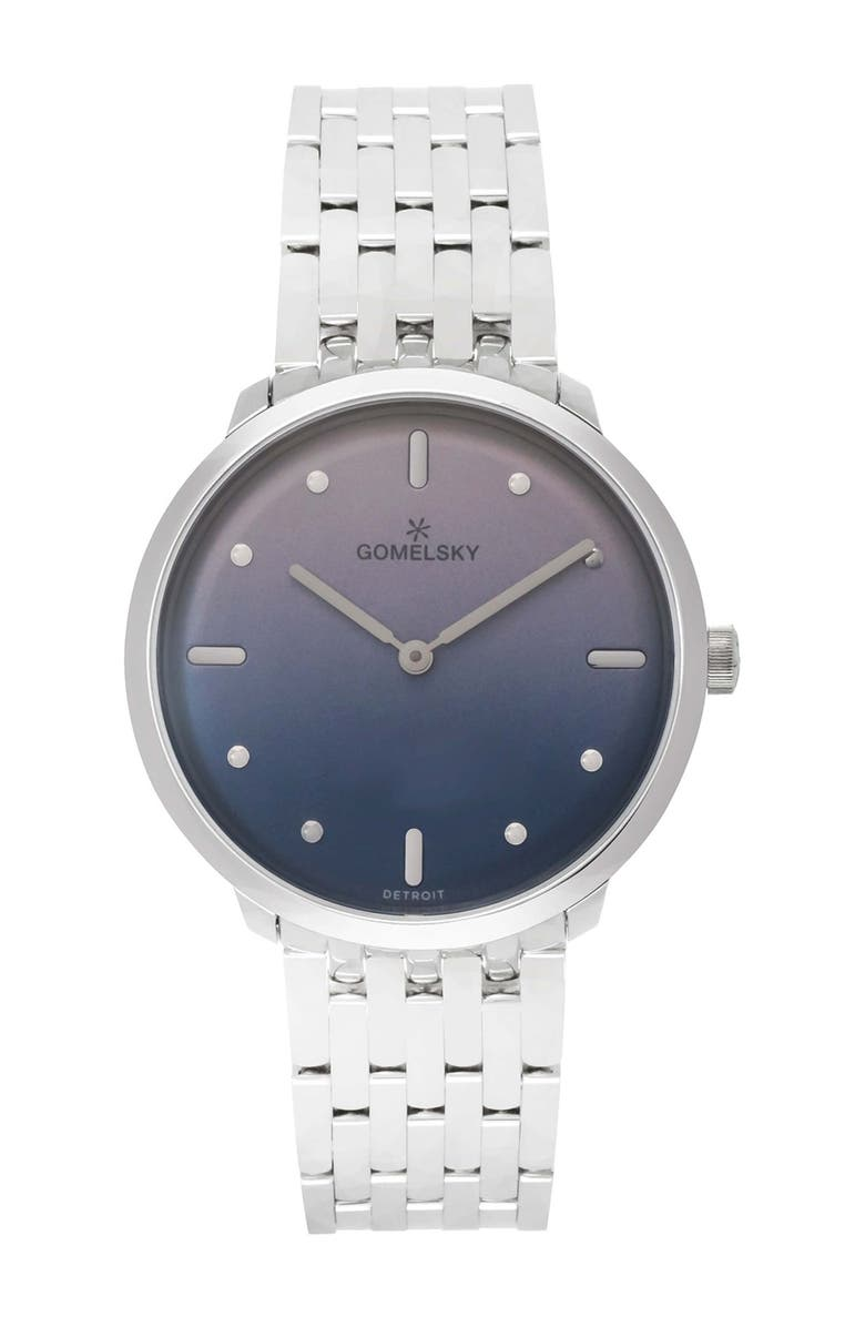 GOMELSKY BY SHINOLA Women's Audry Bracelet Watch, 36mm, Main, color, SILVER