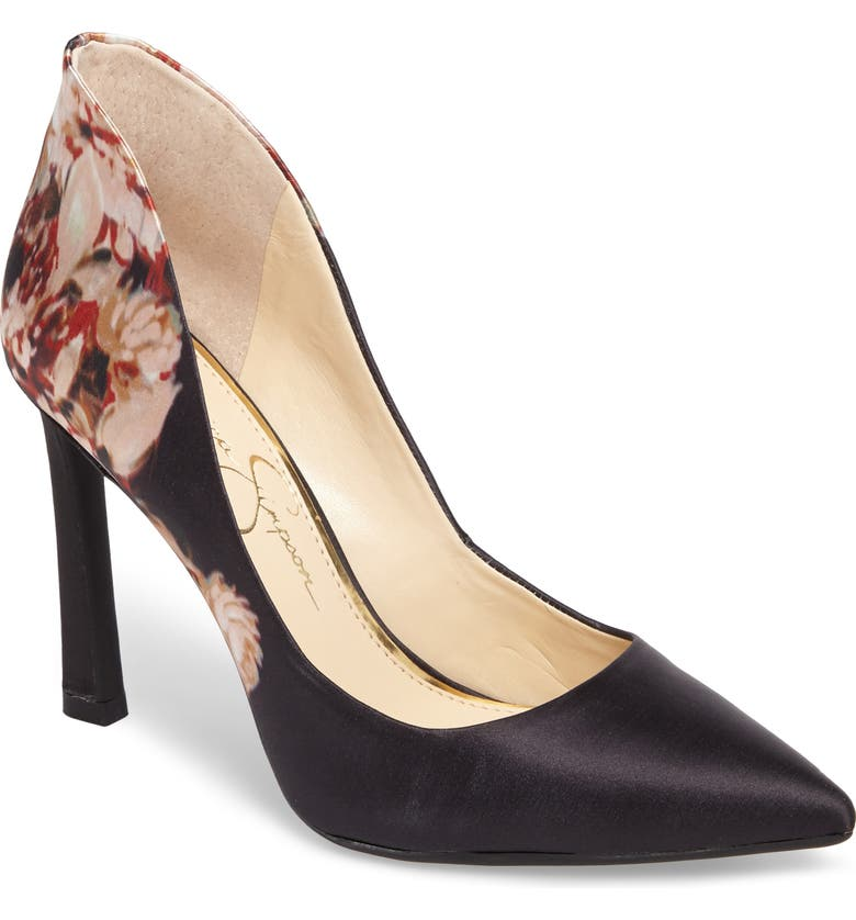 JESSICA SIMPSON Parma Pointy Toe Pump, Main, color, 002
