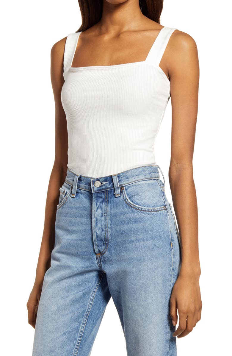 REFORMATION Canyon Tank, Main, color, WHITE
