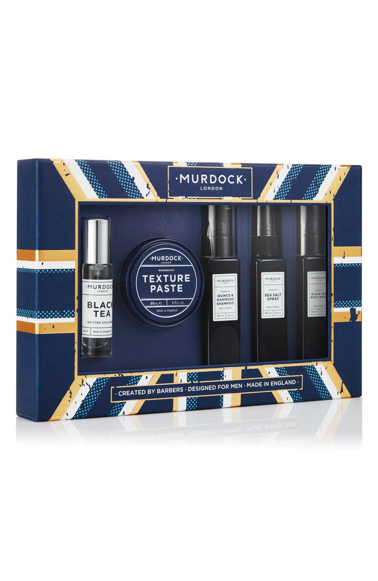 MURDOCK LONDON A Gentleman of Two Cities Travel Size Grooming Set, Main, color, 000