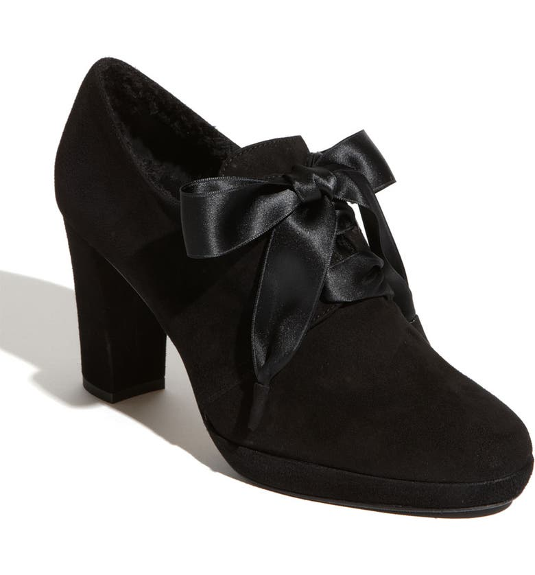 RON WHITE 'Harlowe' Bootie, Main, color, ONYX