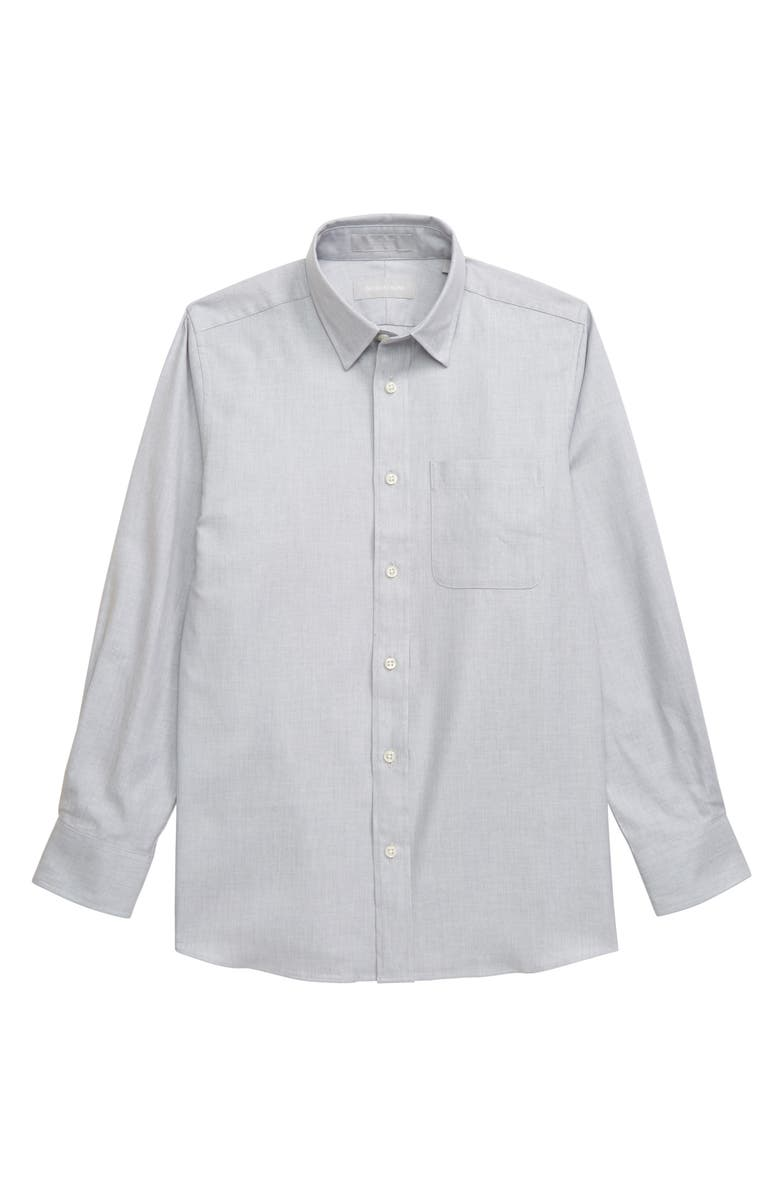NORDSTROM Textured Dress Shirt, Main, color, 050