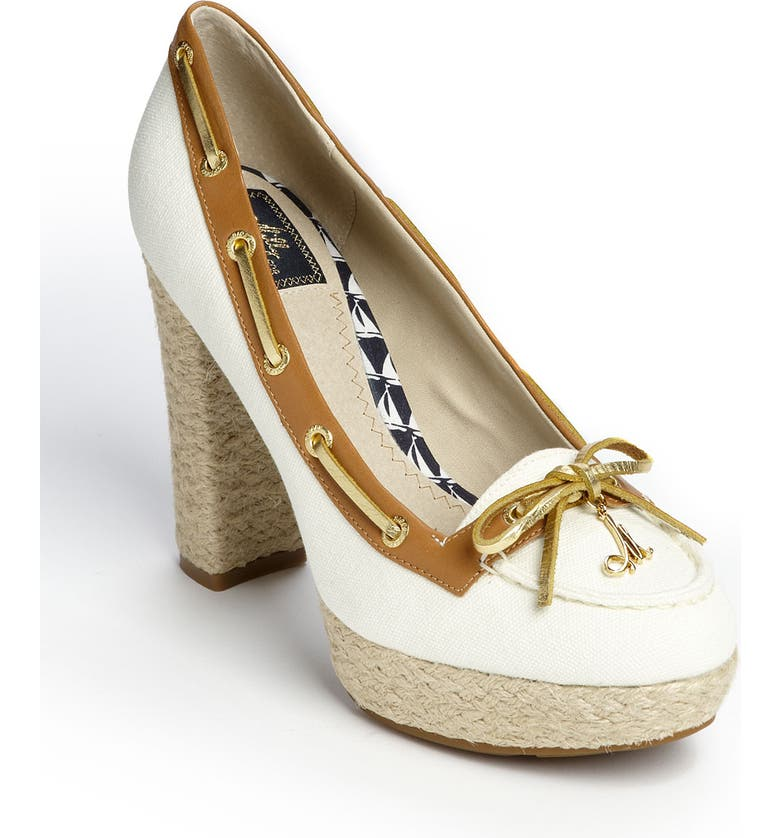 SPERRY Milly for Sperry Top-Sider<sup>®</sup> Platform Pump, Main, color, White