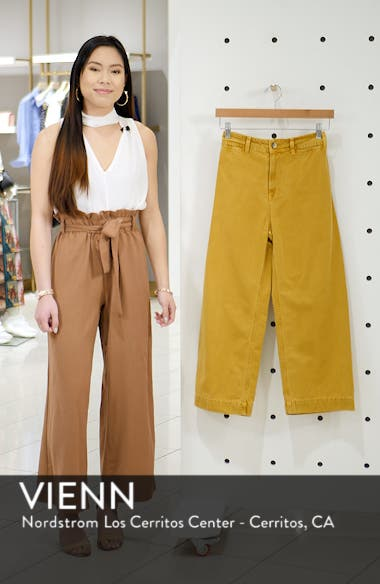 We the Free by Free People Patti Crop Cotton Pants, sales video thumbnail