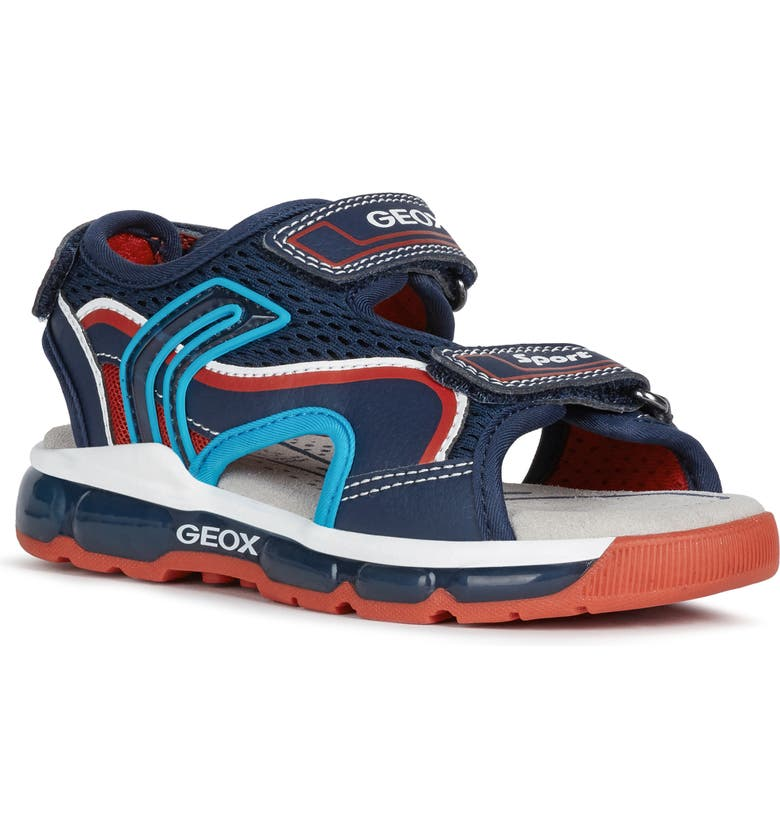 GEOX Android 7 Sandal, Main, color, 401