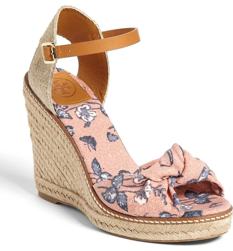 TORY BURCH 'Macy' Wedge Espadrille, Main, color, 650