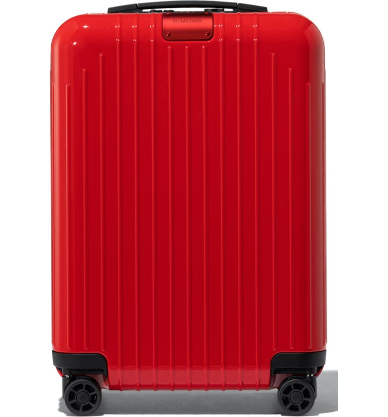 RIMOWA Essential Lite Cabin 22-Inch Wheeled Carry-On, Main, color, RED