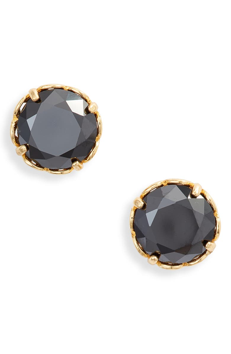 KATE SPADE NEW YORK that sparkle round stud earrings, Main, color, 001