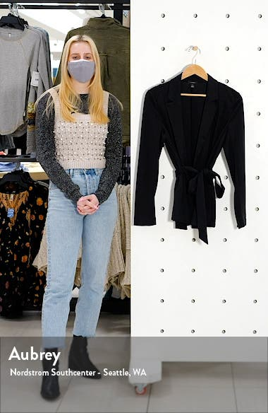 ? Soft Belted Blazer, sales video thumbnail