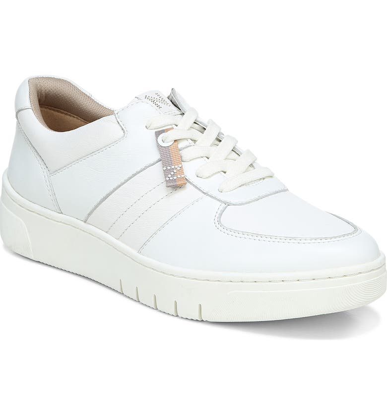NATURALIZER Hadley Platform Sneaker, Main, color, WHITE LEATHER