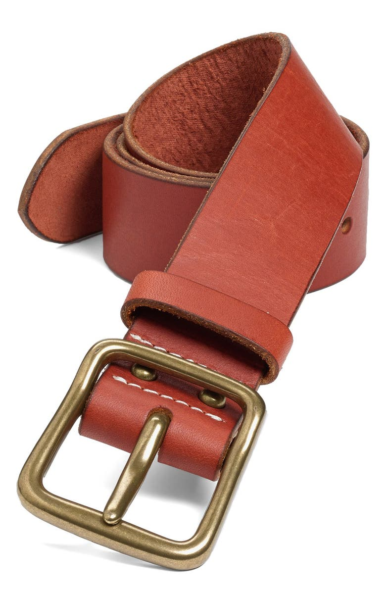 RED WING 'Pioneer' Belt, Main, color, 210