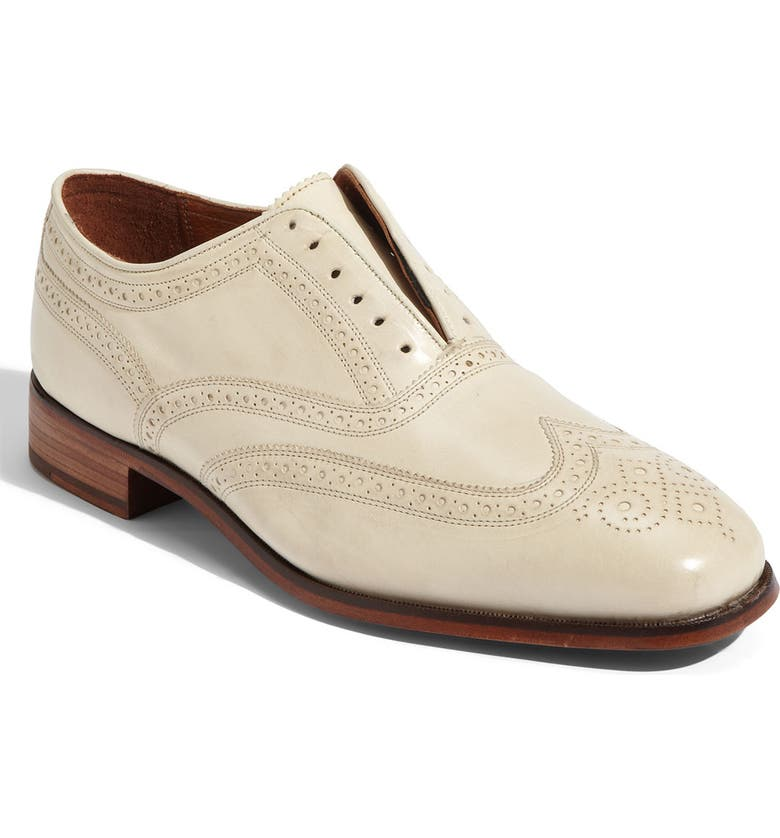 FLORSHEIM by Duckie Brown Laceless Wingtip Oxford, Main, color, 106