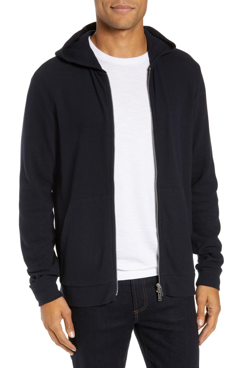 THEORY Essential Zip Hoodie, Main, color, ECLIPSE