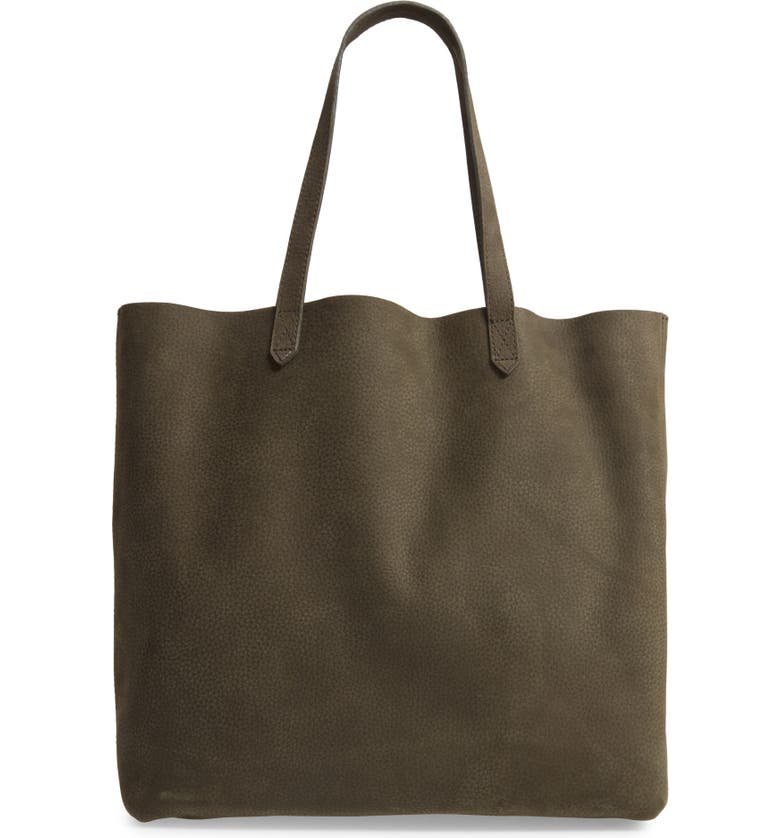 MADEWELL The Transport Nubuck Tote, Main, color, 200