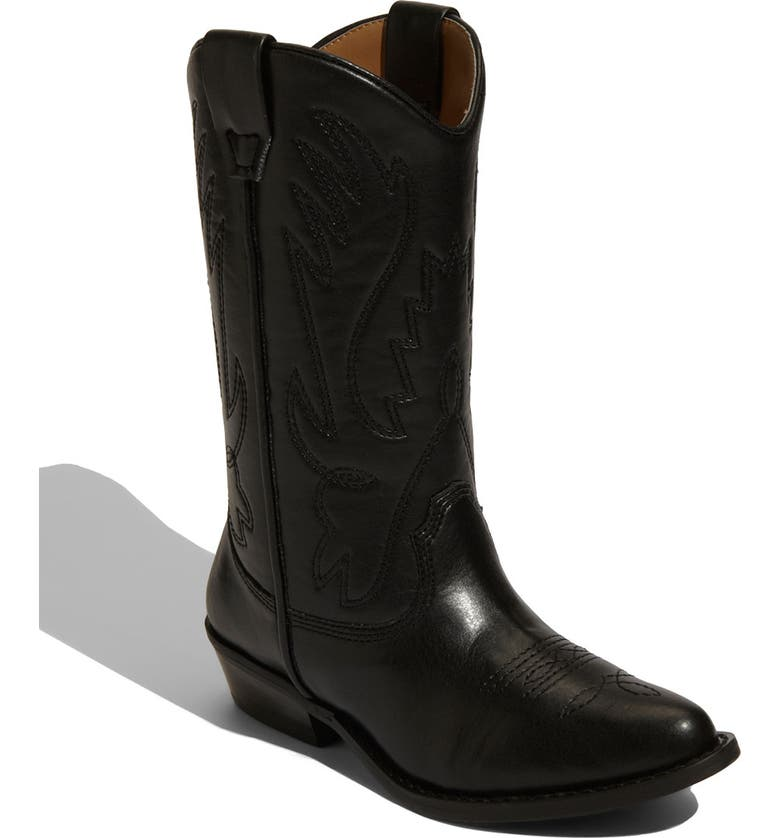 NORDSTROM 'Cassidy' Faux Leather Boot, Main, color, 001