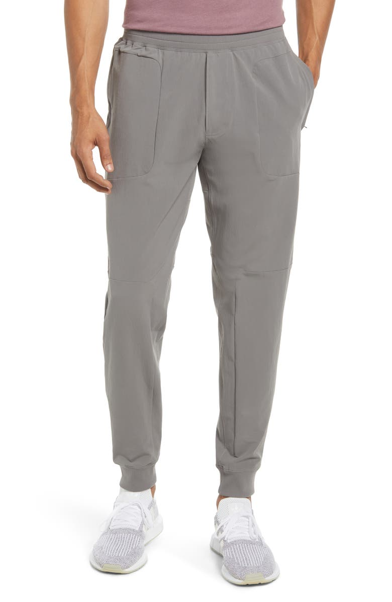 ALO Co-Op Pocket Tapered Joggers, Main, color, SHADOW GREY